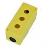 16mm push button switch box with 3 hole