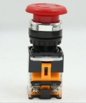 emergency stop push button switch LA38-11ZS