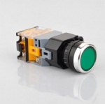 push button switch with lighting  LA38-11D