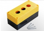 3 hole push button switch box