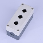 3 hole push button switch box(higher)
