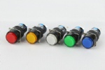 LA16 push button switch Round type