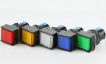 LA16 push button switch with lighting