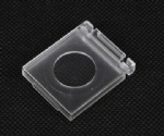 16mm push button switch cover transparent